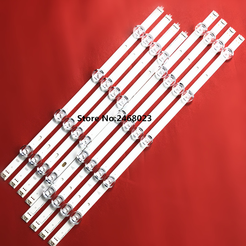 "8 PCS/set LED backlight strip bar for 47 inch 47LB6300 innotek LC470DUH DRT 3.0 47"" A/B type 6916L 1715A 1716A-in LED Bar Lights from Lights & Lighting    1"