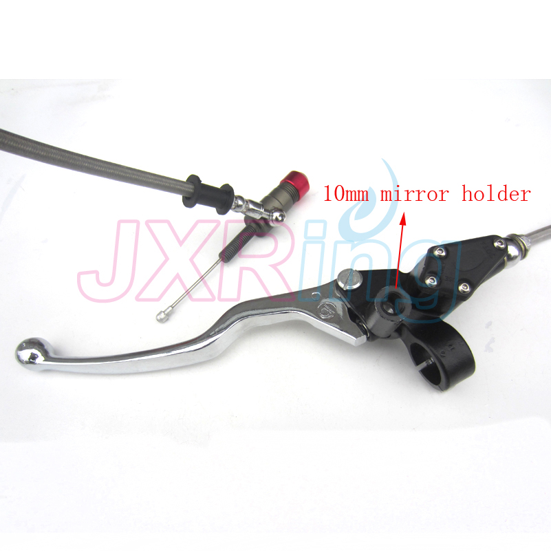 Free shipping Hydraulic Clutch Lever master cycliner refitting kit for dirt bike pit bike use with M10 mirror settle