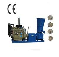 KL400A 55HP Diesel Engine Pellet Mill Feed Wood Pellet Making Machine Pellet Press