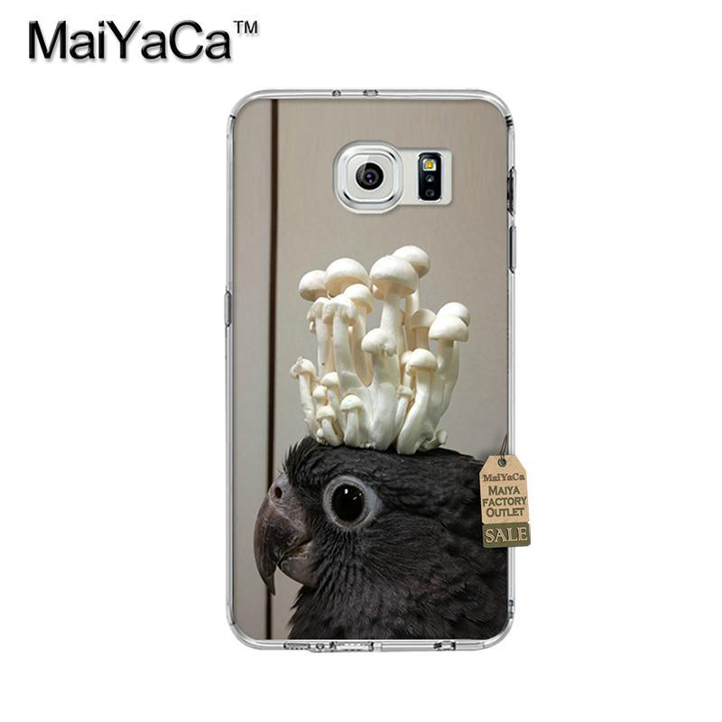 , Fish Bird Cut Animal Best Gift Transparent TPU Soft Phone Accessories Cover Case For Samsung s7 edge s8 s8plus s9 case