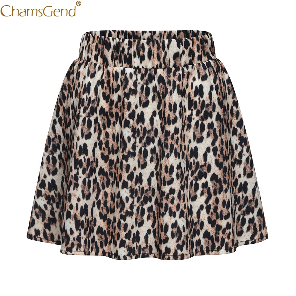 Summer Party Cocktail skirts womens vintage casual shorts skirts womens with design Leopard  Printed SkirtHigh Waist Mar