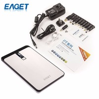 EAGET PT96 Power Bank 32000mAh External Battery Pack Portable Charger For Notebook Laptop Tablet And Mobile