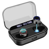 Bluetooth 5.0 Wireless Earbuds TWS Earphone Smart Noise Cancelling 3D Stereo HIFI Sound 2600mAh Waterproof Wireless Headset|Bluetooth Earphones & Headphones|Consumer Electronics -