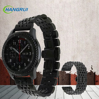 22mm Stainless Milanese Loop Steel Watchband For Samsung Gear S3 Classic Frontier Watch Band Wrist Strap