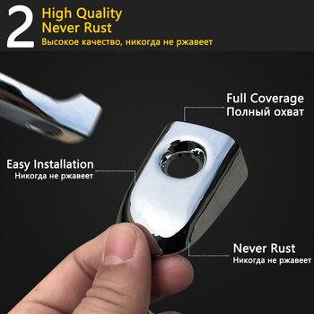 Для Toyota Ractis Verso-S Space Verso Subaru Trezia 2011 ~ 2017 хромированные дверные ручки, автомобильные аксессуары, наклейки, набор отделки 2016