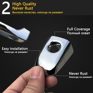 Image 4 - for Toyota Corolla E140 E150 2007~2013 Chrome Door Handle Cover Car Accessories Stickers Trim Set 2008 2009 2010 2011 2012