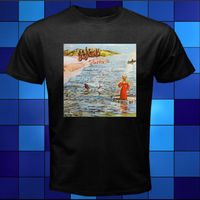 Nowy Foxtrot GENESIS 1972 Album Rock Band Czarny T-Shirt Rozmiar Sm L XL 2XL 3XL Hip Hop Nowosci Koszulki z krótkim rękawem Odzież Męska Marki