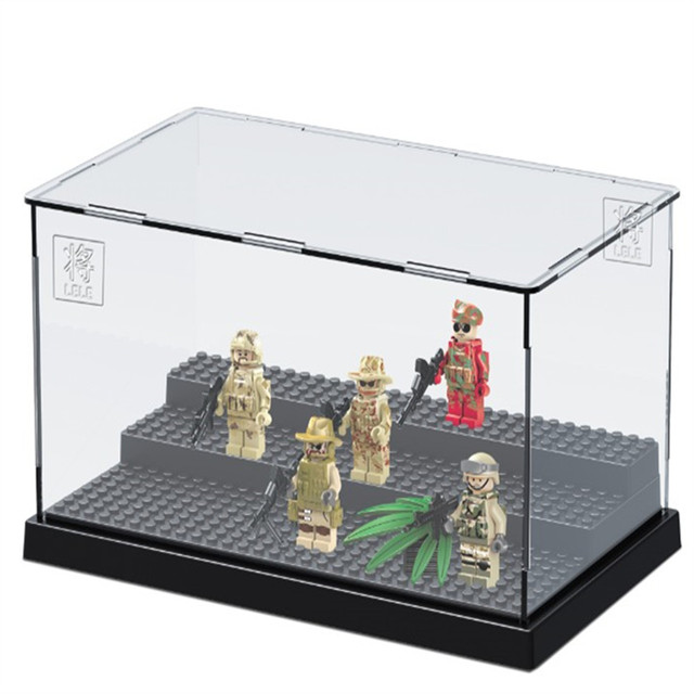 Legoingly Storage Box Display Case For Batman Movie Super Heroes Series  Classic Model Figure Building Blocks