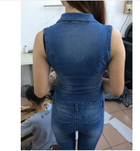 Women catsuit Jumpsuits jeans Pants long pants