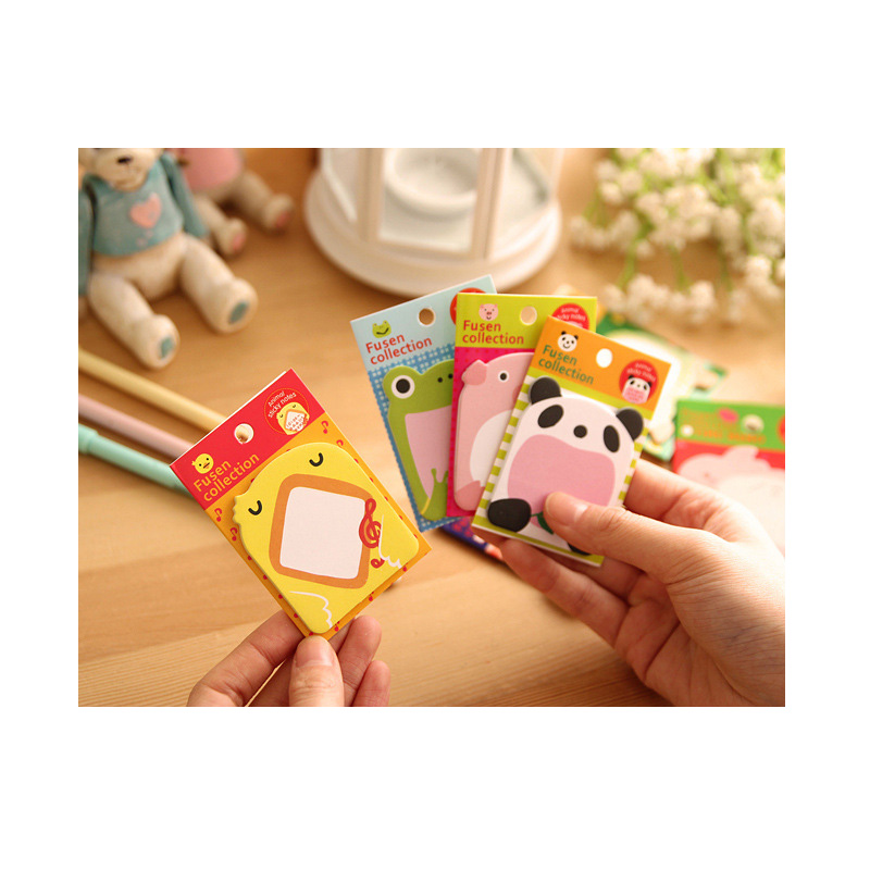 16pcs Kawaii Stationery Notepads Cat Sticky Notes Folhas De Papel Post Nota De Memo Pad Sticky Notes  Papeleria Office Decorat
