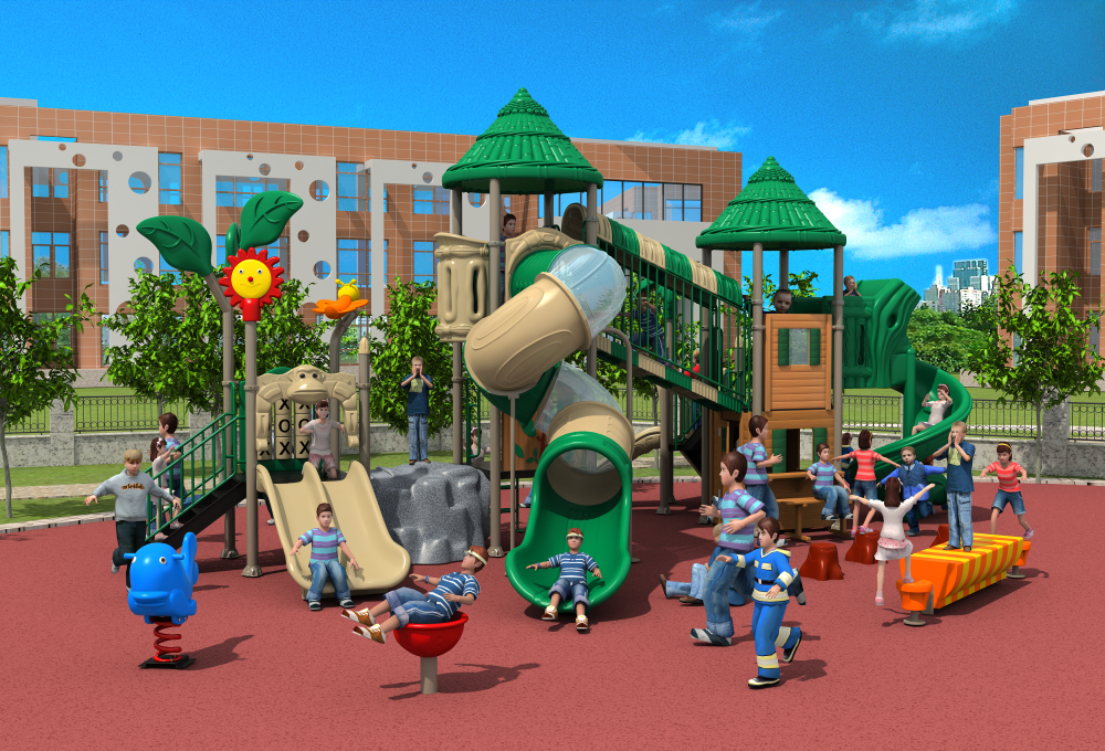 Woods Series Amusement Outdoor Playground Ylw021 School