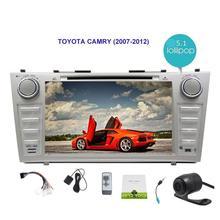 Android 5.1 автомобиль Радио стерео Bluetooth двойной DIN в тире головное устройство для Toyota Camry GPS навигации автомобиля dvd-плеер мультимедиа