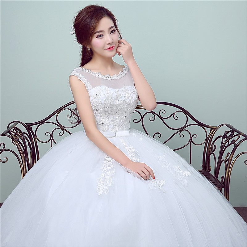 New Style Lace Wedding Dress 2018 Summer Korean Style Simple Chinese ...