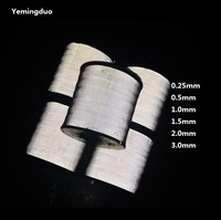 0.5MM/1MM/1.5MM/2MM/3MM/0.25MM High LightTwo Parties Reflective Thread Safety Warning Tape