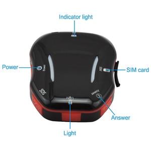 Image 2 - ミニ wifi の gps lbs ロケータリアルタイム agps 測位電子フェンス高齢者のための子スーツケースバックパック 2 通話モード