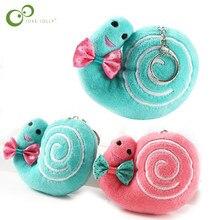 1 adet yeni yaratıcı sevimli yumuşak salyangoz kolye peluş oyuncak çocuklar favori sevimli bebek doğum günü hediyeleri oyuncaklar çocuklar için WYQ