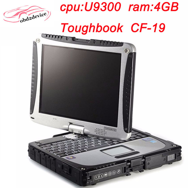 2018.12 mb star c4/c5/c3 software or 2018.12V for bmw icom software with  CF19 laptop touch screen military toughbook quick ship