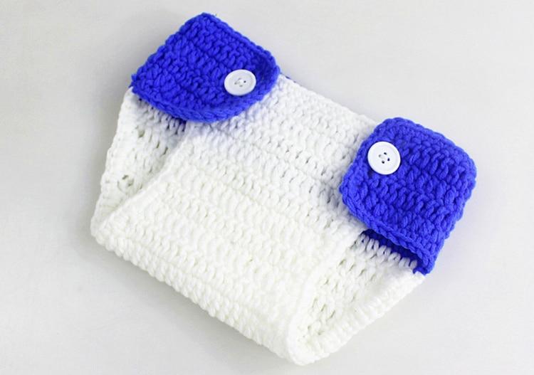 Cotton-Newborn-Photography-Props-Fotografia-Crochet-Infant-Baby-Hat-Pant-Shoes-Monster-Baby-Boy-Girls-Clothing-Set-Keepsake-08