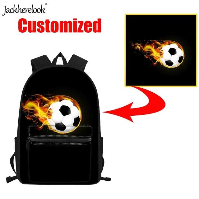 Jackherelook personnalisé votre propre Logo/Image/Photo/nom imprimé étudiants sacs à dos enfants filles garçons sacs décole adolescents sacs dordinateur