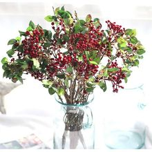 Artificial Stamen Flowers Berries for Scrapbooking DIY wreath Decoration