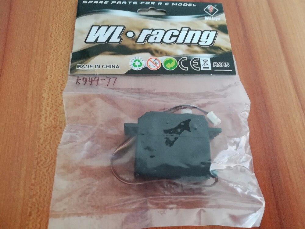 WL Wltoys K949 10428 10428-A 10428-B 10428-C voiture Rc 4wd 1/10 échelle de puissance électrique sur la dérive routière K949-77 de course servo