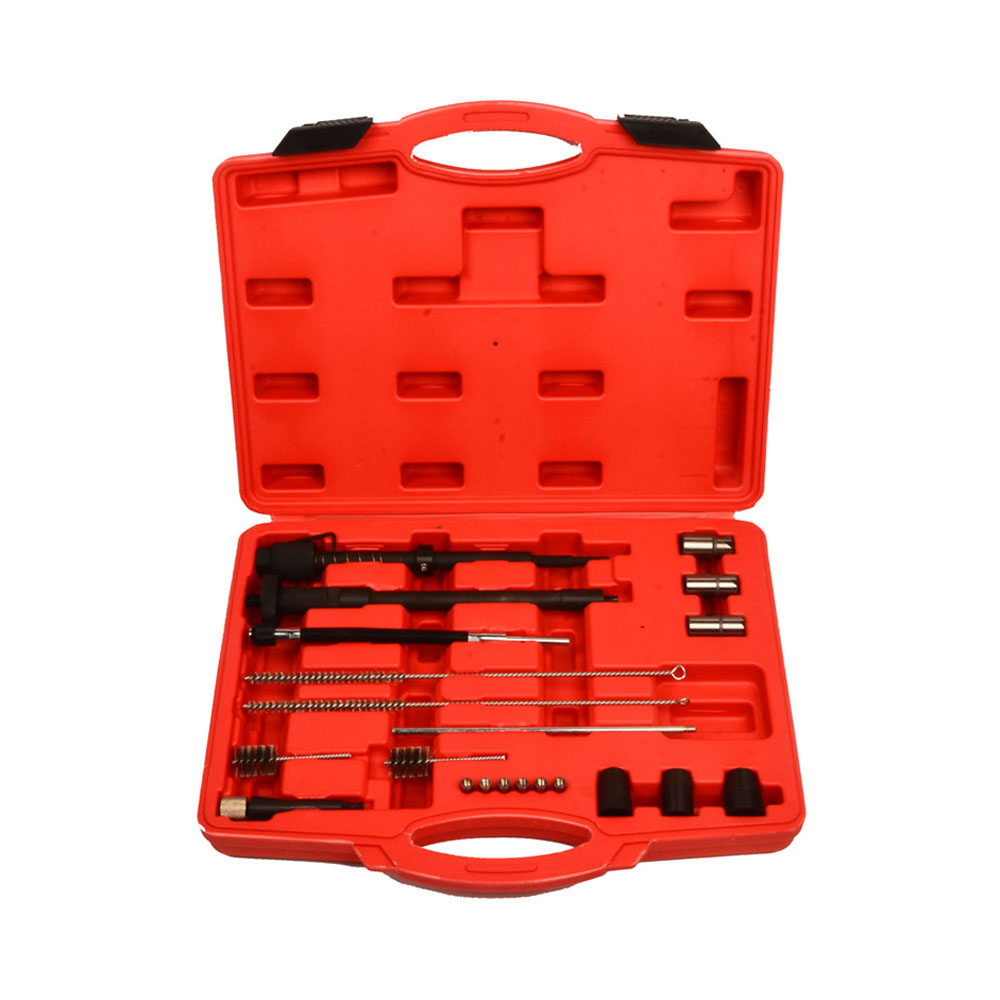 Injector Seat Manhole Cleaning Set Seat Cutters Guide Seal Puller Brushes SK1365