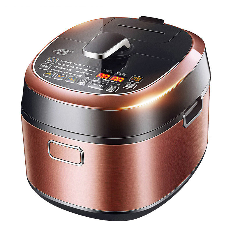 Electric Pressure Cookers pressure cooker cooking pot electric genuine 3 people -4 people multi function high pressure pot multifunction electric pressure cooker smart household 6l large capacity 5 6 people automatic
