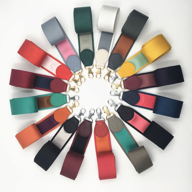 Fabric Women Fashion Bag Strap High Quality Lady Shoulder Bag Belts Trendy Stylish Length Custom Made Bags Belts Q0234