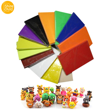 DIY 48 Colors Soft Fimo Clay Manual Sculpture Modelling Polymer Clay Oven Harden Plasticine Art school Tools Toys For Child 500g