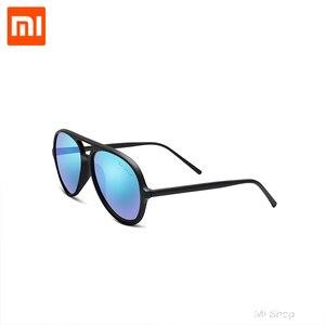 Image 3 - Xiaomi TS קרח כחול טייס משקפי שמש TAC מקוטב עדשת TR90 גדול משקפיים מסגרת משקפי שמש חיצוני משקפי שמש לקיץ