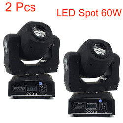 2 предмета 60 w Светодиодный прожектор 7 экраны Подвижная головка света DMX 9/11 канальный свет/подчиненная/автоматического запуска/звуковой кон...