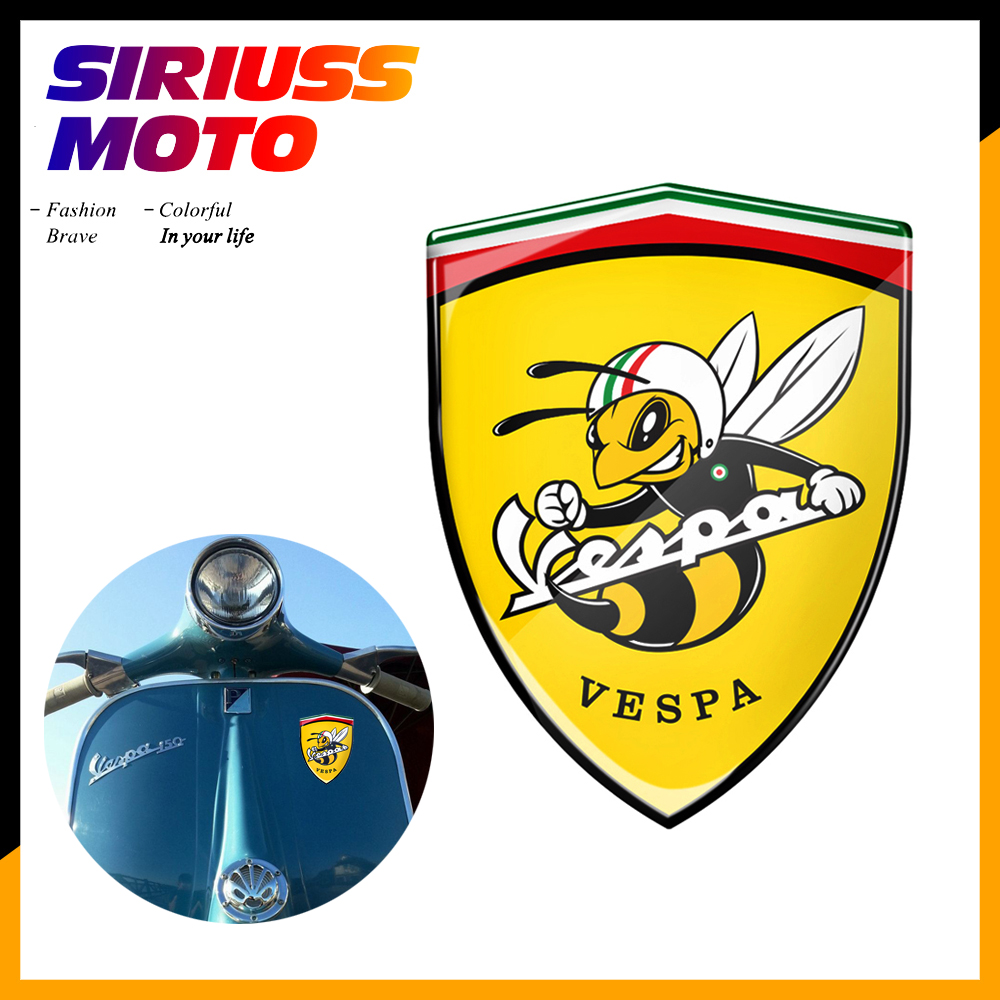 3D Motorcycle Decal Italy Stickers Case For PIAGGIO VESPA GTS GTV LX LXV SPRINT 150 125 250 300 Ie Super