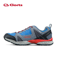 Clorts 2017 Men S Outdoor Trekkin Hiking Shoes For Mesh Breathable Climbing Mountain Shoes Anti Slipping