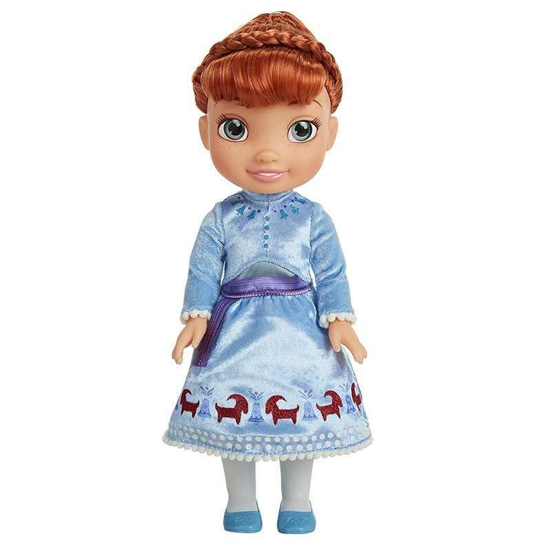 Disney Принцесса BabyDoll детская игрушка каваи Анна Эльза Детская кукла Фигурка модель игрушки День рождения рождественские подарки игрушки для детей
