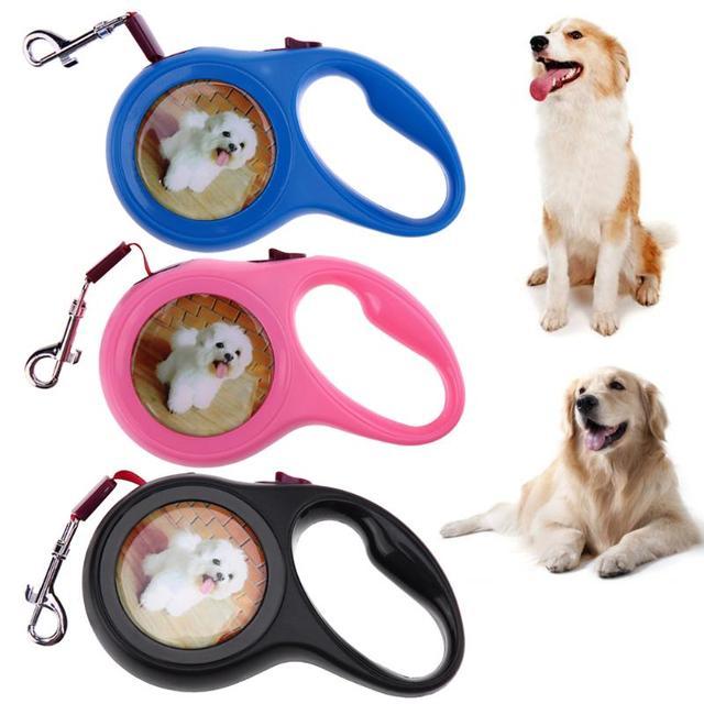 Flessibile Cane Trazione A Fune Automatico Outdoor Viaggiare Pet Dog Puppy Guinz