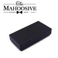 Caja de regalo de pajarita Mahoosive organizador de corbata de boda para hombre cuadros de corbata de mariposa regalos caja madera Bowtie cajas de corbatas