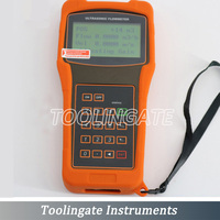 Medidor de fluxo ultrassônico líquido portátil de digitas TUF-2000H com TM-1/TL-1 (DN50-6000mm) transdutores medidores de fluxo profissionais