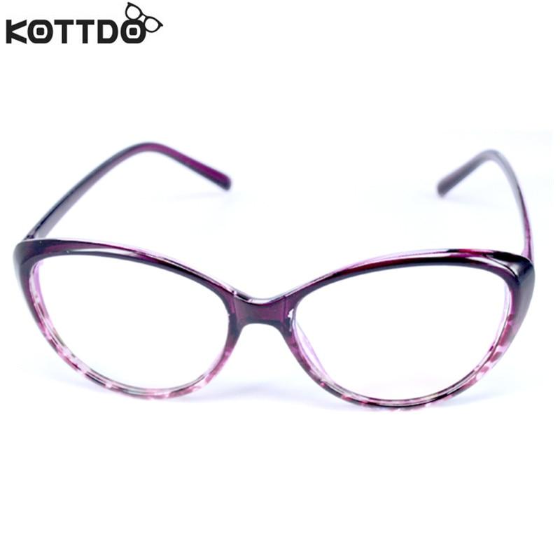 KOTTDO Mode Dames Cat Eye Brillen Frame Heren Optisch Glasse Frame - Kledingaccessoires - Foto 5