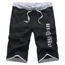 Новый 2014 Лето Повседневный Мягкая мужские шорты флокированием черный и серый пляжные шорты Размер M, L, XL, 2XL, 3XL, 4XL