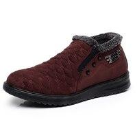 XQ Lã Quente Botas de Inverno Botas de Neve Tornozelo Plana Para Homens M307 boots flat boots for men boots boots -