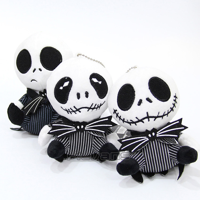 The Nightmare Before Christmas Jack Skellington Plush Toy Soft Stuffed Doll  6inch 13cm 3 Styles aed74f15dd