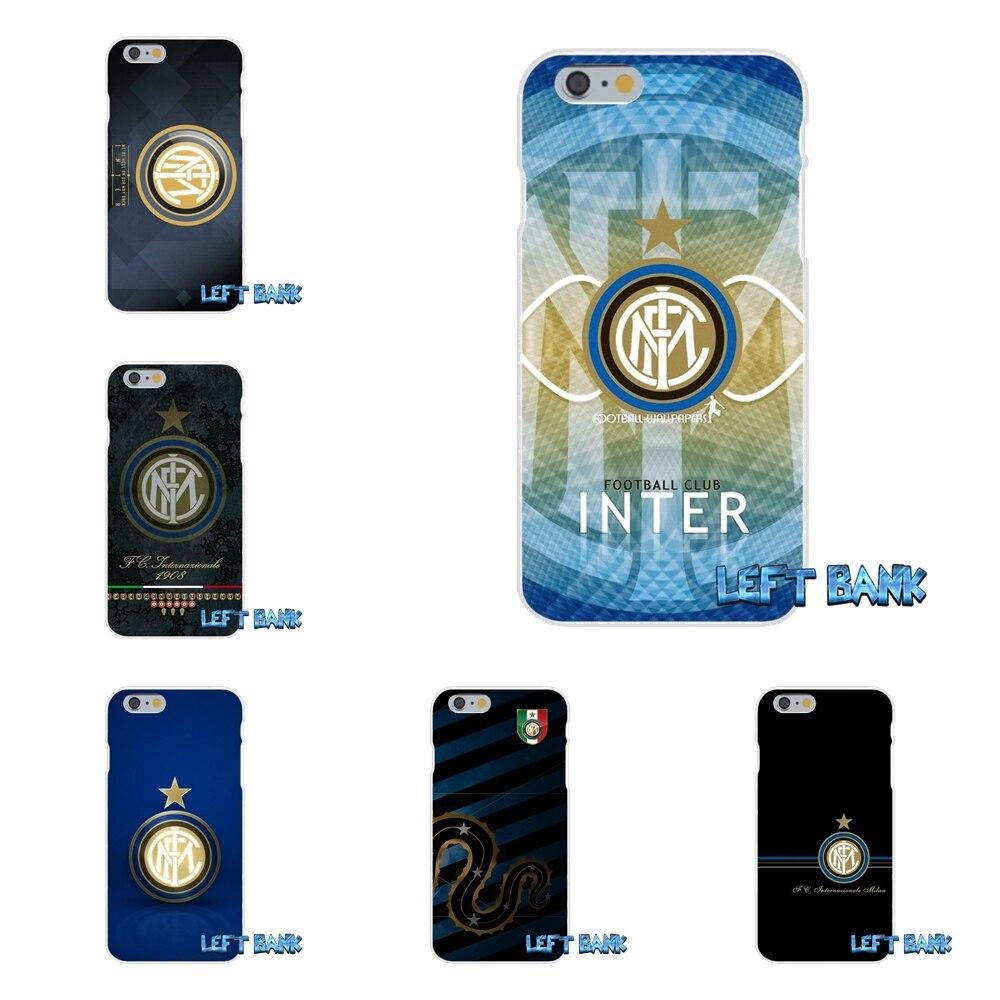 For Motorola Moto G LG Spirit G2 G3 Mini G4 G5 K4 K7 K8 K10 V10 V20 For Inter Milan Italy Football Club Logo Phone Case Silicone