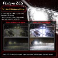 מנורות לרכב YIRAY רכב פנס LED H7 H4 LED H1 H11 9005 / HB3 מנורות ערפל 9006 / HB4 80W 9600LM 6000K 12V 24V לרכב פנס COB נורות רכב (5)