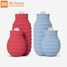 Xiaomi Mijia микроволновая печь; силикон бутылка для горячей воды складная 3 минуты быстрая тепловая безопасность Герметичная сумка для горячей воды для зимних путешествий