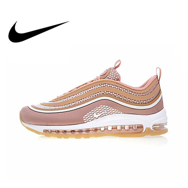 quality design bdf50 bb215 Original Authentic Nike Air Max 97 Ultra 17 Womens Running Shoes  Comfortable Breathable Sneakers Sport Outdoor 917704-600