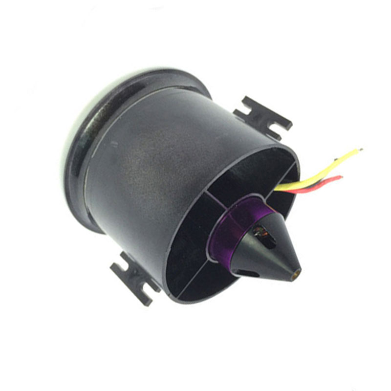 QX-MOTOR 70mm 6 Blades Ducted Fan EDF With 2839 3200KV Motor Brushless For RC Airplane Model Parts jmt qf2827 3800kv brushless motor 80a for 70mm fan 6 blades edf unit rc airplane qx motor