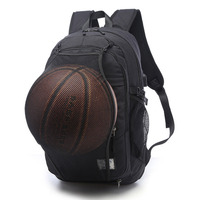 Gym Bags Sport Bags Backpack Men Basketball With USB Cable Outdoor Fitness School Bag For Teenager