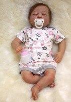 Реборн Младенцы высокого класса ручной работы коллекция reborn boneca 20 настоящий ребенок выглядит Кукла реборн силикон