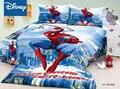 Комплекты постельного белья с изображением Человека-паука набор пододеяльников для детей 2-3-4 шт.  домашний текстиль  одноразмерная кровать ...