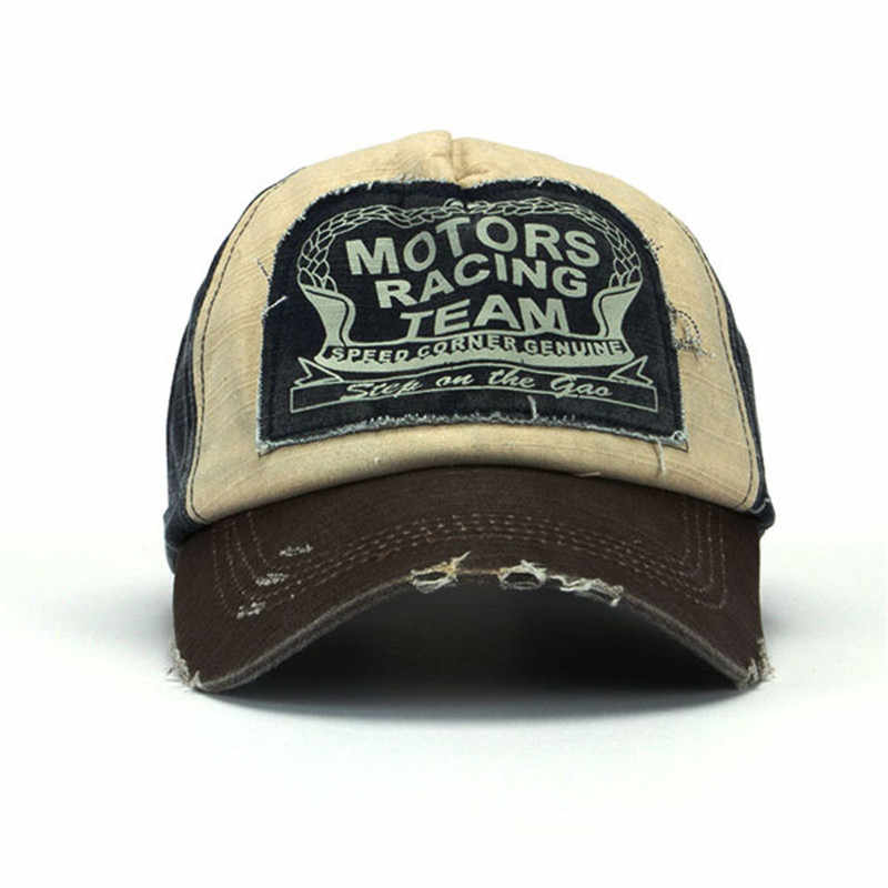 bf4f14e4ab0 ... Retro Cool Distressed Wearing Baseball Cap Brand Snapback Caps Men  Women Retro Snapback Hats Vintage Van ...
